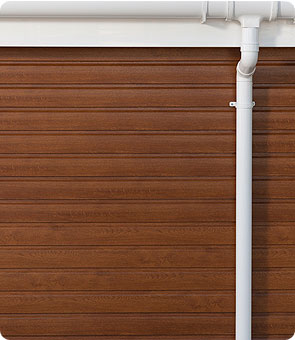 Upvc timber effect cladding